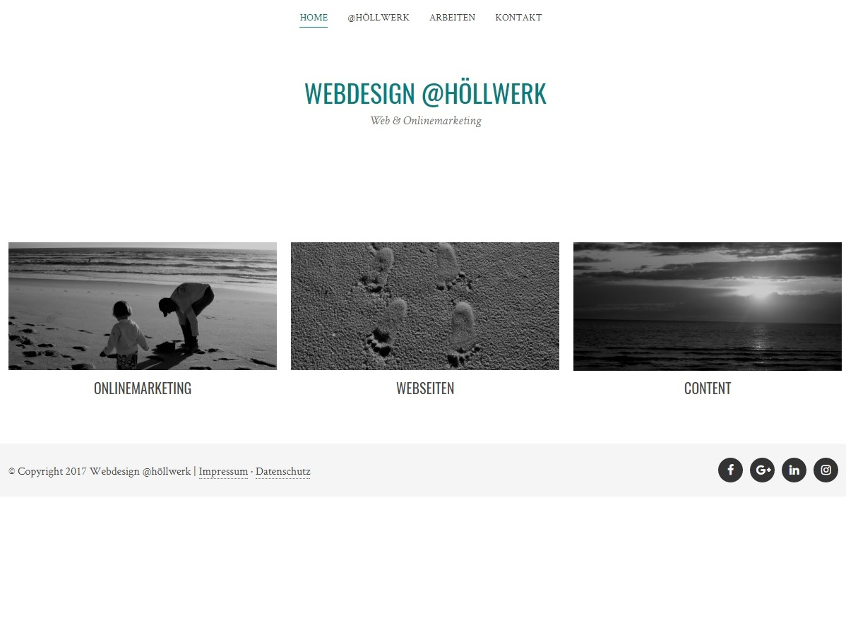 Webdesign @höllwerk